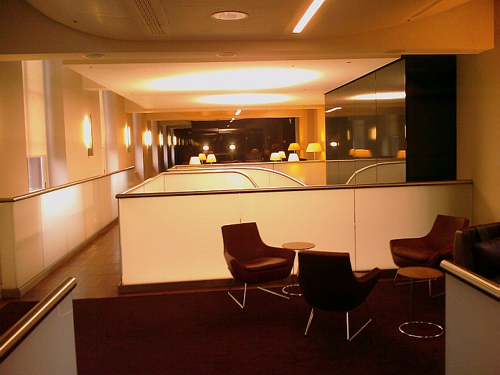 Eurostar lounge London - 2nd floor