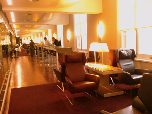 Eurostar lounge London - 1st floor