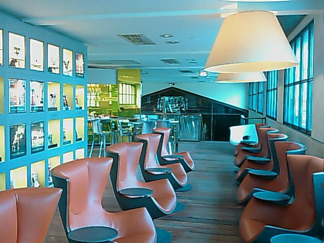Eurostar lounge in Paris - 2nd floor