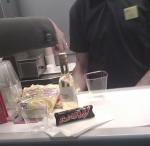 Eurostar bar coach